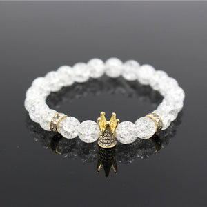 The Snow White Crown Beaded Bracelets