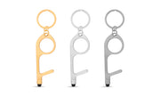 Life Stylus 3-Pack Door Opener, Button Pusher, Stylus, Contact-Free Keychain