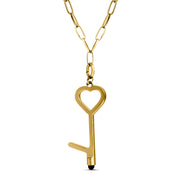 Life Stylus Heart Door Opener Stylus Necklace on Chain