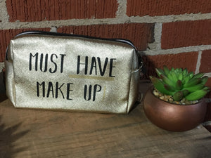 Must have make up cosmetic bag