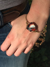 Load image into Gallery viewer, Indian chief bracelet