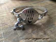 Load image into Gallery viewer, Farm sweet farm bangle