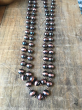 Load image into Gallery viewer, Copper beaded necklace
