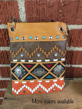 Load image into Gallery viewer, Southwestern petite crossbody