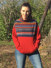 Load image into Gallery viewer, Aztec print pullover