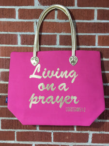 Living on a prayer tote