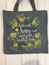 Load image into Gallery viewer, Kind words shopping tote