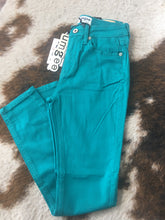 Load image into Gallery viewer, Skinny Jeans Teal