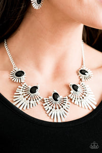 Paparazzi Accessories Miss YOUniverse - Black Necklaces - Lady T Accessories