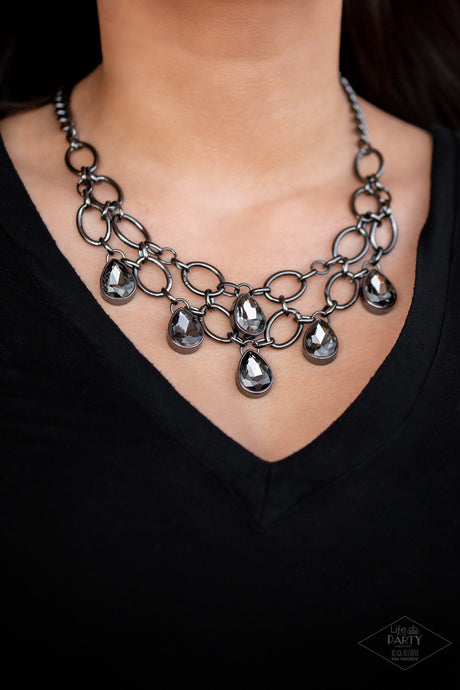 Show Stopping Shimmer - Black - Lady T Accessories