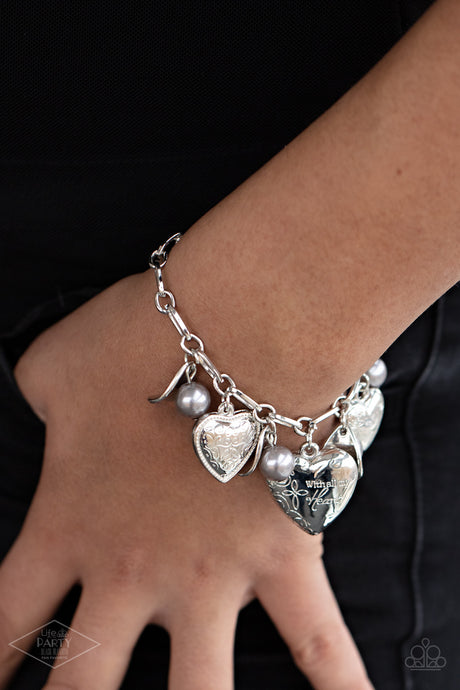 Paparazzi Accessories Love Will Find a Way - Silver Bracelets - Lady T Accessories