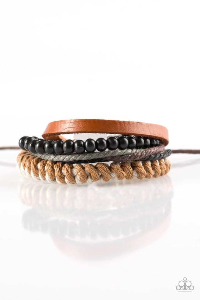 Paparazzi Accessories The Pioneer - Brown Bracelets - Lady T Accessories