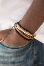 Load image into Gallery viewer, Paparazzi Accessories The Pioneer - Brown Bracelets