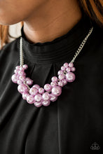Load image into Gallery viewer, Paparazzi Accessories Glam Queen - Purple Necklaces