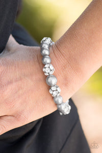 Paparazzi Accessories Pearls and Parlors - Silver Bracelets - Lady T Accessories