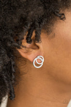 Load image into Gallery viewer, Paparazzi Accessories In Great Measure - White Earrings