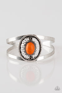 Paparazzi Accessories Deep in the Tumbleweeds - Orange Bracelets  - Lady T Accessories
