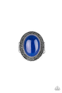 Paparazzi Accessories Outdoor Oasis - Blue Rings - Lady T Accessories