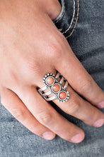 Load image into Gallery viewer, Paparazzi Accessories Rio Trio - Orange Rings - Lady T Accessories