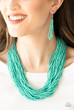 Load image into Gallery viewer, Paparazzi Accessories The Show Must Congo On! - Blue Necklaces