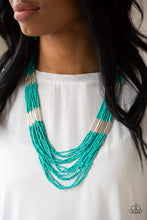 Load image into Gallery viewer, Paparazzi Accessories Let it Bead - Blue Necklaces