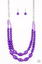 Load image into Gallery viewer, Paparazzi Accessories Sundae Shoppe  - Purple Necklaces - Lady T Accessories