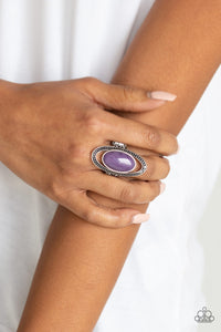 Paparazzi Accessories Western Royalty - Purple Rings - Lady T Accessories