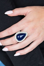 Load image into Gallery viewer, Paparazzi Accessories Mojave Mist Blue Rings