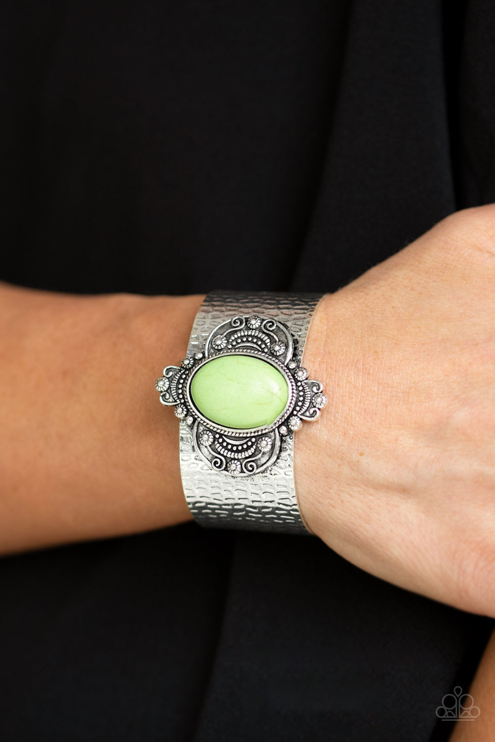 Paparazzi Accessories Yes I CANYON - Green Bracelets - Lady T Accessories