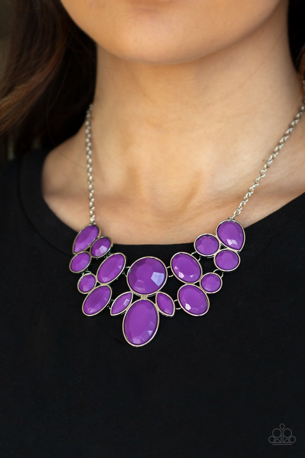 Paparazzi Accessories Demi-Diva - Purple Necklaces - Lady T Accessories