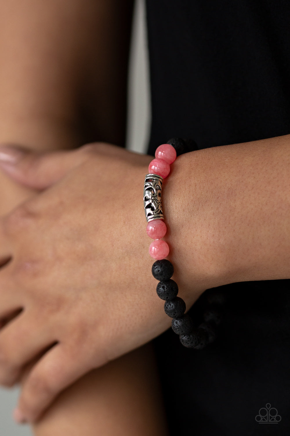 Paparazzi Accessories Modern Meditation - Pink Bracelets - Lady T Accessories