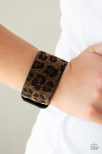 Paparazzi Accessories Cheetah Cabana - Brown Bracelets - Lady T Accessories