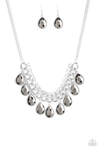 Paparazzi Accessories All Toget-HEIR Now Silver Necklaces - Lady T Accessories