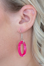Load image into Gallery viewer, Paparazzi Accessories Turn Up the Heat - Pink Necklaces