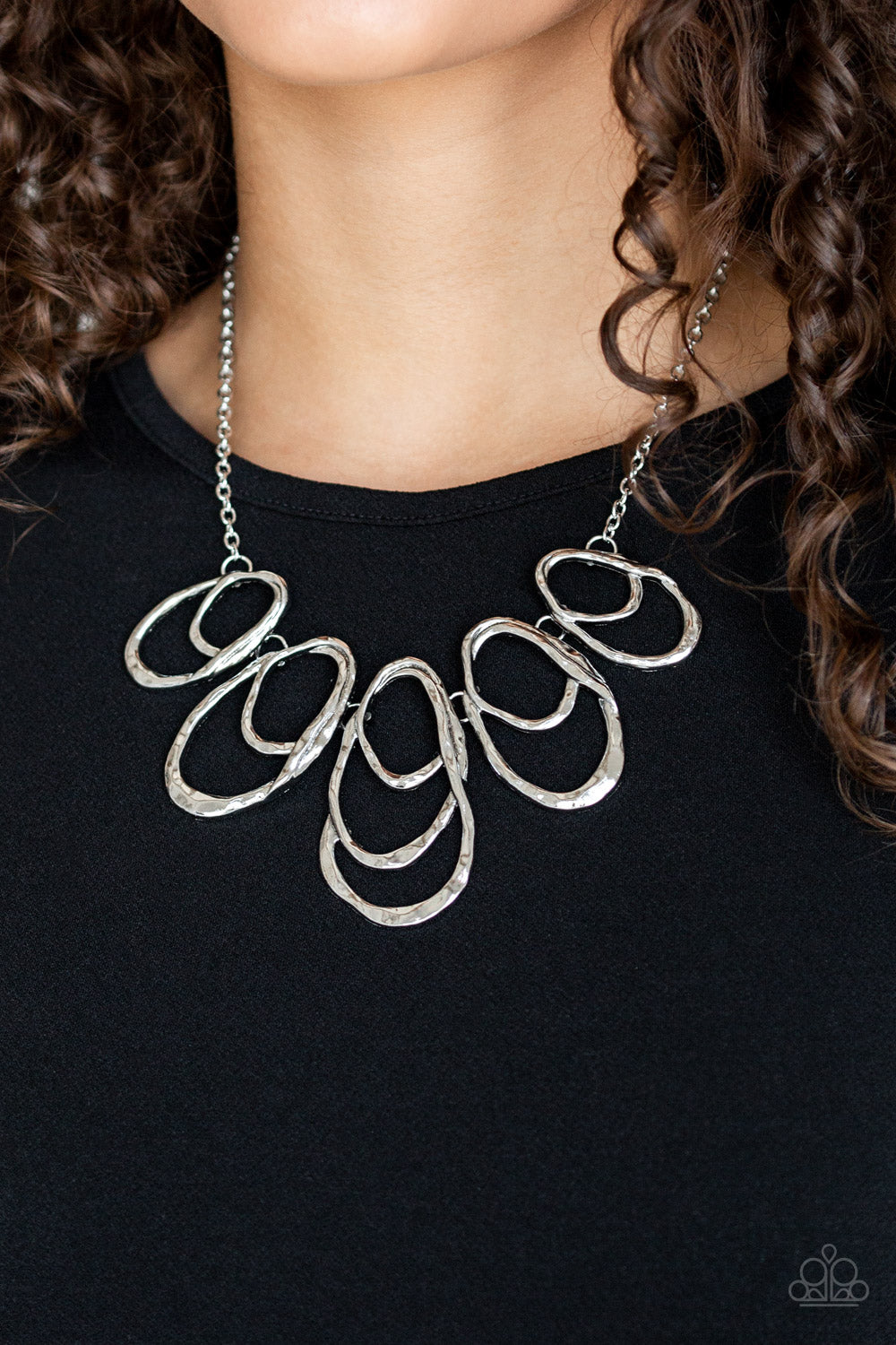 Paparazzi Accessories Terra Storm - Silver Necklaces - Lady T Accessories