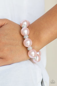 Paparazzi Accessories Extra Elegant - Pink Bracelets - Lady T Accessories