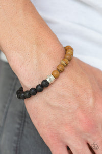 Paparazzi Accessories Tuned In - Brown Bracelets - Lady T Accessories