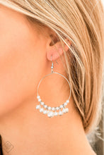 Load image into Gallery viewer, Paparazzi Accessories The PEARL-fectionist White Earrings - Lady T Accessories