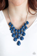 Load image into Gallery viewer, Shop til You Teardrop - Blue - Lady T Accessories