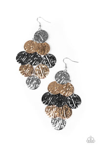 Paparazzi Accessories Uptown Edge - Multi Earrings