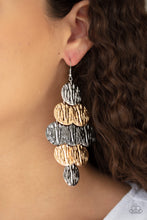 Load image into Gallery viewer, Paparazzi Accessories Uptown Edge - Multi Earrings