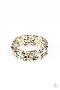 Paparazzi Accessories Stunningly Stacked - Multi Bracelets - Lady T Accessories
