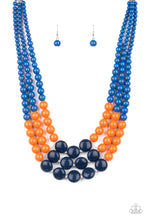 Load image into Gallery viewer, Paparazzi Accessories Beach Bauble - Blue Necklaces - Lady T Accessories