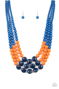 Paparazzi Accessories Beach Bauble - Blue Necklaces - Lady T Accessories
