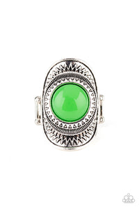 Paparazzi Accessories Sunny Sensations - Green Rings - Lady T Accessories