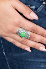 Load image into Gallery viewer, Paparazzi Accessories Sunny Sensations - Green Rings - Lady T Accessories