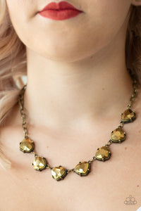 Paparazzi Accessories Star Quality Sparkle - Brass Necklaces - Lady T Accessories