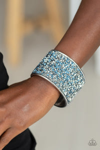 Paparazzi Accessories Stellar Radiance - Blue Bracelets  - Lady T Accessories
