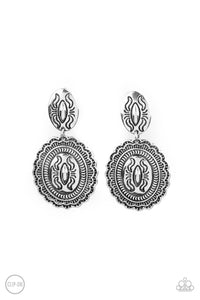 Paparazzi Accessories Ageless Artifact - Silver Earrings