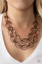 Load image into Gallery viewer, Paparazzi Accessories Status Quo - Copper Necklaces - Lady T Accessories
